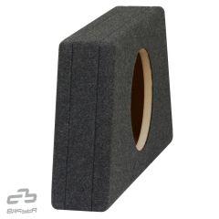 """Basskasse uten element 12"""" - 20L koksgrå"""