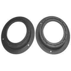 Speaker panel 100 mm and 130 mm round speaker (rear)