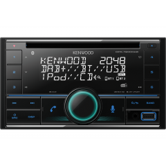 Kenwood DPX-7200DAB 2DIN AUX / USB / BLUETOOTH / HANDSFREE / CD / DAB+