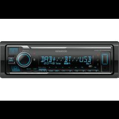 Kenwood KMM-BT506DAB USB / BLUETOOTH / HANDSFREE / DAB+ (IKKE CD)