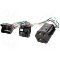 Høy -> lavnivå adapter (4 kanals) med Quadlock plugg
