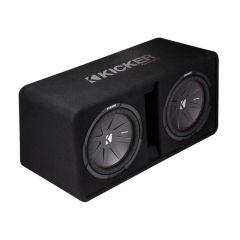 """Kicker - DCWR122 2x12"""" basskasse (2 ohm)"""