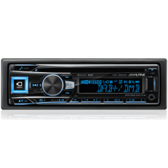 BMW 1 serie 2004 - 2011 (med ryggesensore) Alpine CDE-196DAB 1 DIN DAB+ radio