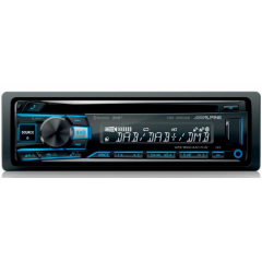 Citroen C5 2005 - 2011 (m/ryggesensor) Alpine CDE-205DAB 1 DIN DAB+ radio