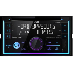 JVC KW-DB93BT 2DIN AUX / USB / BLUETOOTH / HANDSFREE / CD / DAB+