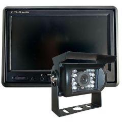 Ryggekamera pakke med 7-tommer monitor og kamera