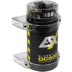 ESX Audio - Kondensator 0.5F med voltmeter