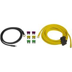 ESX Audio - 6mm2 kabelsett ren kobber DWK16 (40A)