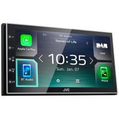 JVC KW-M745DBT  BLUETOOTH / HANDSFREE / ANDROID AUTO / APPLE CARPLAY / DAB+ (IKKE CD / DVD)