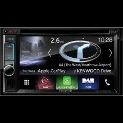 Audi A3 2004 - 2012 Kenwood DNX-5170DABS  2 DIN DAB+ radio og navigasjon