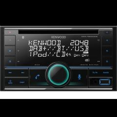 Volvo V70 / XC70 2001 - 2004 Kenwood DPX-7200DAB 2 DIN DAB+ radio