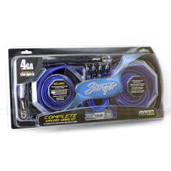 Stinger - 4 Gauge (25mm2) HPM series kabelsett med høyttalerkabel