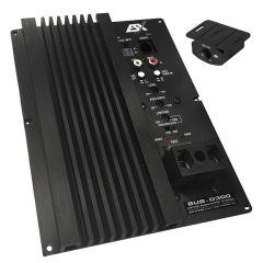 ESX Audio - Vision SUB D300 subwoofer forsterker (1x300W 2 ohm)